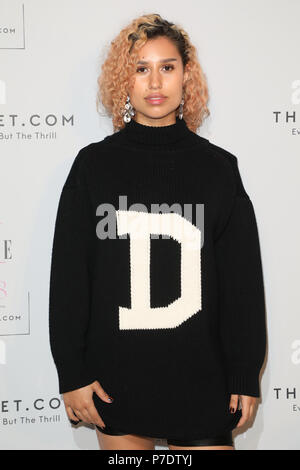 The Elle List 2018 held at Somerset House - Arrivals  Featuring: Raye Where: London, United Kingdom When: 04 Jun 2018 Credit: Lia Toby/WENN.com - Stock Photo