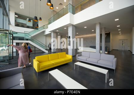 modern commercial office interiors stock photo 211137921 alamy