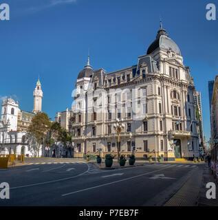 Buenos Aires City Hall - Palacio Municipal de la Ciudad de Buenos Aires - Buenos Aires, Argentina - Stock Photo