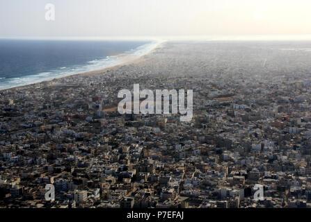 Africa's very west: Dakar, Senegal - Stock Photo