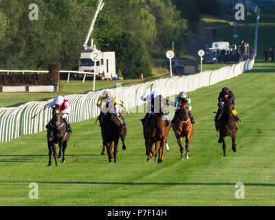 Lingfield Races - Stock Photo