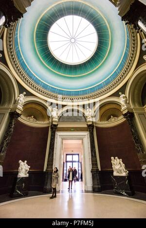 Alte Nationalgalerie ,Antigua Galería Nacional, Isla de los Museos, Berlin, Alemania, europe. - Stock Photo