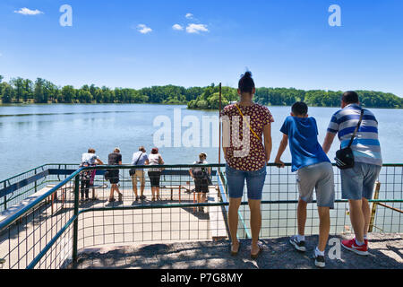 rybnik Svet, Trebon, Jizni Cechy, Ceska republika / Svet pond, town Trebon, South Bohemia, Czech republic - Stock Photo