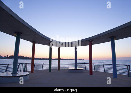 Pier in the Baltic sea spa Kellenhusen on the Baltic Sea, Schleswig - Holstein North Germany, Germany, - Stock Photo