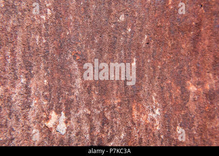 Old worn metal surface. Rusty metal texture background. Perfect grunge wallpaper. No people. - Stock Photo