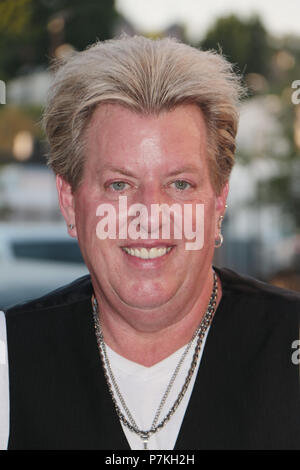 "California, USA. 7th July 2018. Joe Finley  07/06/2018 ""The Swansons 4th of July Celebration Performance"" held at The Study in Hollywood, CA Photo by Kazuki Hirata / HollywoodNewsWire.co Credit: Hollywood News Wire Inc./Alamy Live News - Stock Photo"