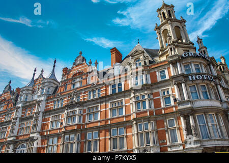 The Grand Hotel Leicester - Stock Photo
