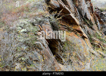 Travelogue,  Travel Newfoundland, Canada,  Landscapes and scenic,  Canadian Province,  'The Rock', - Stock Photo