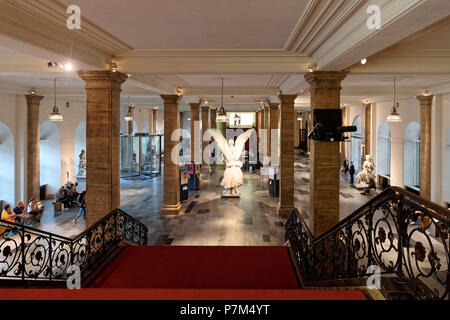 Germany, Berlin, Berlin-Mitte district, Unter den Linden, German Historical Museum (Deutsches Historisches Museum, DHM), created in West Berlin in 1987 in a former Prussian Arsenal from the beginning of the 18th century - Stock Photo