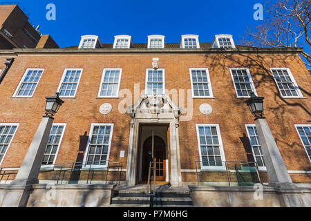 England, London, Bloomsbury, Brunswick Square, The Foundling Museum - Stock Photo