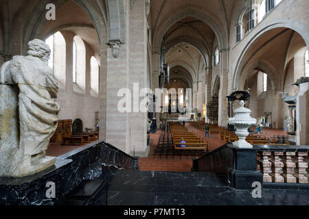 Germany, Rhineland-Palatinate (Rheinland-Pfalz), Mosel River Valley, Trier, St Peter cathedral listed as World Heritage by UNESCO - Stock Photo