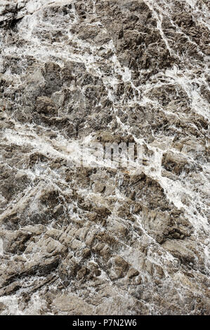 Gray stone texture background in Amalfi Coast. Rock texture. - Stock Photo