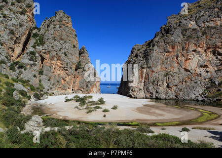 Platja de Torrent de Pareis on Mallorca Island - Stock Photo