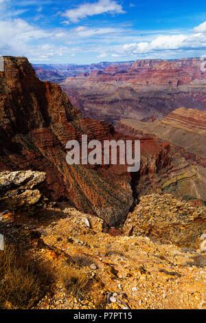 Grand Canyon National Park, South Rim, Arizona, USA - Stock Photo