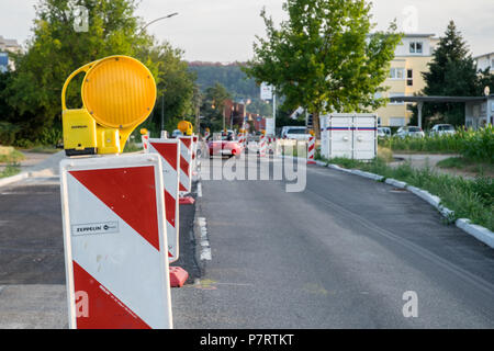 Baustelle in Gerlingen, Deutschland - Stock Photo