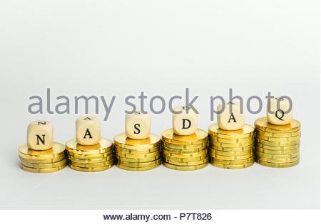 NASDAQ - Stock Photo