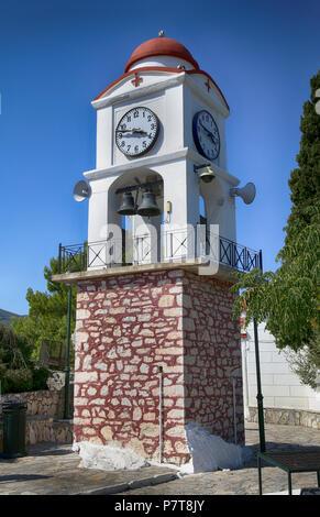Agios Nikolaos church on Skiathos island, Greece - Stock Photo