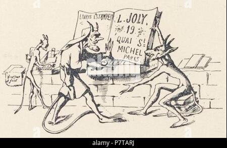 Brasseur Joly Carte De Visite Franais Du Bouquiniste L Install En Face N
