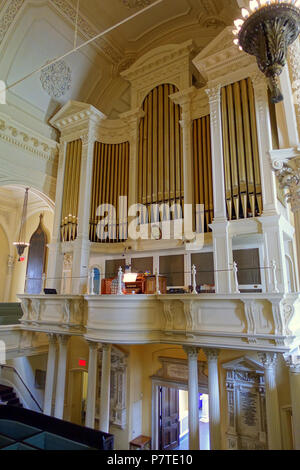 Aeolian Skinner organ Arlington Street Church Boston Stock