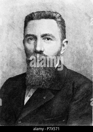 Deutsch: Jean-Maurice-Émile Baudot . before 1903 145 Emile Baudot - Stock Photo