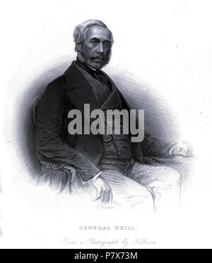 James George Smith Neill (26 May 1810 – 25 September 1857) . 1860 170 General Neill - Stock Photo