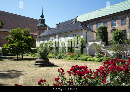 Royal Library Garden - Det Kongelige Biblioteks Have - Copenhagen Denmark - Stock Photo