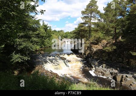 PENNINES IN COUNTY DURHAM - Stock Photo