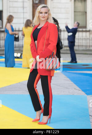 Royal Academy of Arts Summer Exhibition Preview Party Arrivals at the Royal Academy of Arts, Burlington House, Piccadilly in London.  Featuring: Grace Chatto Where: London, United Kingdom When: 06 Jun 2018 Credit: WENN.com - Stock Photo