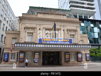 TORONTO, ON / CANADA - MAY 26, 2018: The Royal Alexandra theater, shown here, is the oldest continuously operating theatre in North America. - Stock Photo