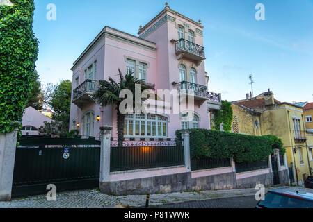 Lisbon, Portugal, luxury villa in the Lapa area