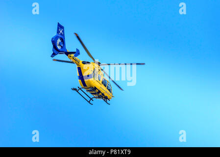 North West Air Ambulance helicopter. - Stock Photo