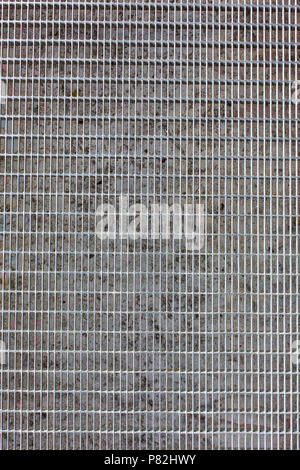 metal grid pattern texture background - Stock Photo