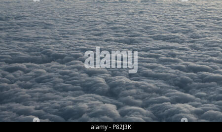 sky clouds abstract pattern texture background - Stock Photo