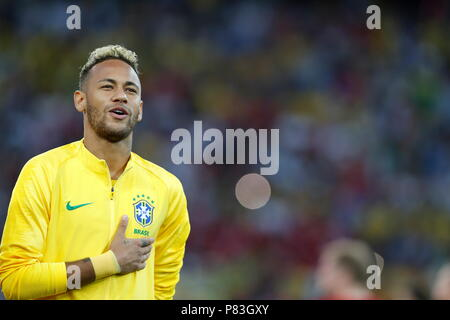 Moscow, Russia. 27th June, 2018. Neymar (BRA) Football/Soccer : FIFA World Cup Russia 2018 match between Serbia 0-2 Brazil at the Spartak Stadium in Moscow, Russia . Credit: Mutsu KAWAMORI/AFLO/Alamy Live News - Stock Photo