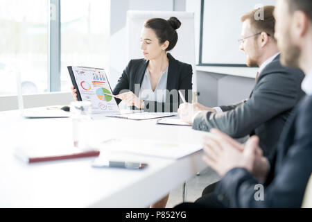 Business Team  Meeting in Conference Room - Stock Photo
