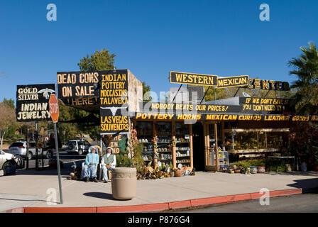 Western Mexican Center at Boulder City, Nevada USA - Stock Photo