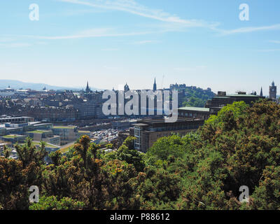 EDINBURGH, UK - CIRCA JUNE 2018: View of the city - Stock Photo