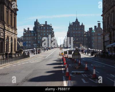 EDINBURGH, UK - CIRCA JUNE 2018: View of the city - Stock Photo