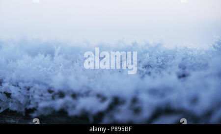 Ice Crystals in winter - Stock Photo