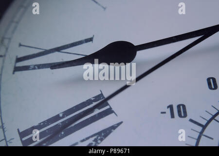 Close-up Clock - Stock Photo