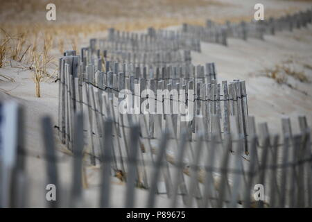 Beach Fence - Stock Photo