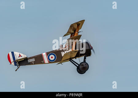 The Shuttleworth Military Pageant at Old Warden - Stock Photo