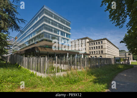 Geneva, Switzerland - june 10, 2018 : The headquarters of the World Trade Organization (WTO) is located in Centre William Rappard - Stock Photo