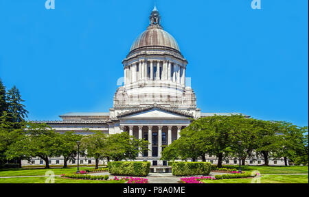 Washington State Capitol  Seattle Washington USA - Stock Photo