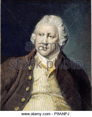 Portrait of Sir Richard Arkwright (1732–1792). Museum: PRIVATE COLLECTION. - Stock Photo