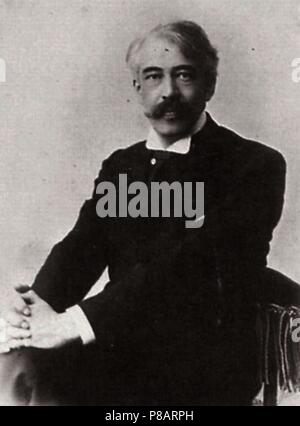 Portrait of Konstantin Stanislavsky. Museum: Museum of the Moscow Art Theatre, Moscow. - Stock Photo