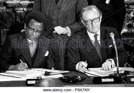 Rhodesia Ceasefire Stock Photo 106402796 Alamy
