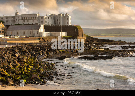 UK, Northern Ireland, Co Londonderry, Portstewart Dominican College in 1834 'Rock Castle' - Stock Photo