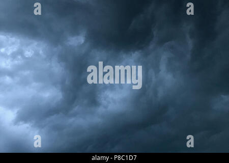 Berlin, Germany, storm clouds - Stock Photo