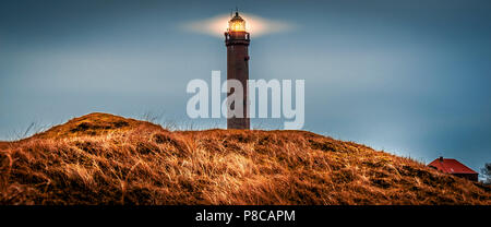 Lighthouse / Tower on Norderney Germany - Stock Photo